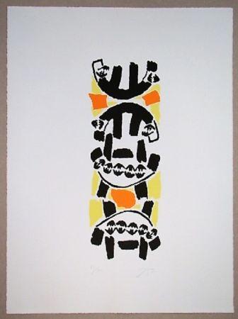 Lithograph Capogrossi - Nurnberg