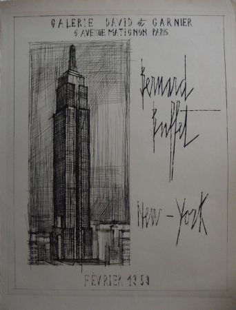 Etching Buffet - NYC : Empire State Building