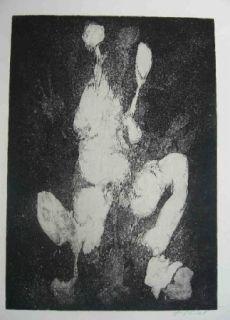 Engraving Gillet - Nymphe des rats
