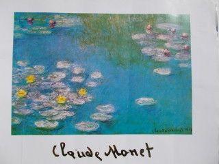 Poster Monet - Nympheas