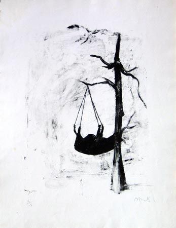 Lithograph Barcelo - Oûtre