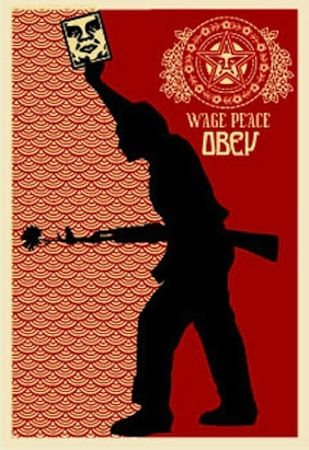 Screenprint Fairey - Obey '04, from Retro Series