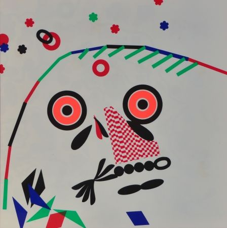 Lithograph Baj - O.b.m