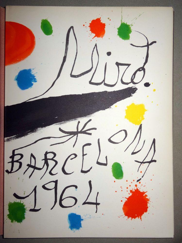 Illustrated Book Miró - Obra Inèdita recent
