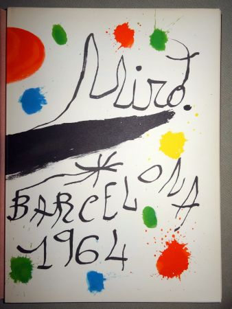 Illustrated Book Miró - Obra Inèdita recent
