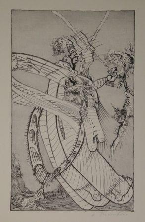 Lithograph Thomkins - Ochsenzöllner.