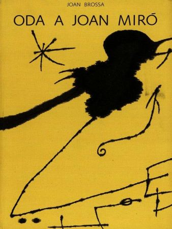 Illustrated Book Brossa - Oda a Joan Miró