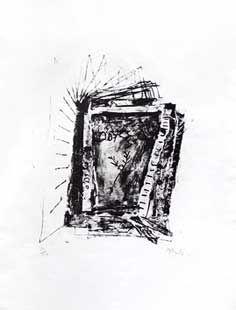 Lithograph Barcelo - Odysea