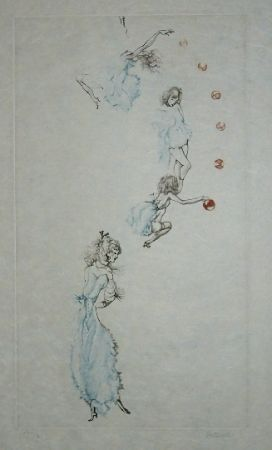 Etching And Aquatint Bellmer - Oeillades ciselées 10