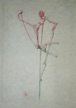 Etching And Aquatint Bellmer - Oeillades ciselées 7