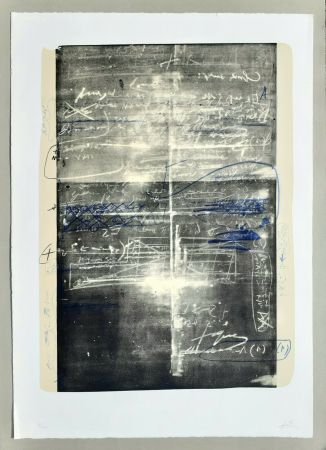 Lithograph Tàpies - Oeuvre gravè