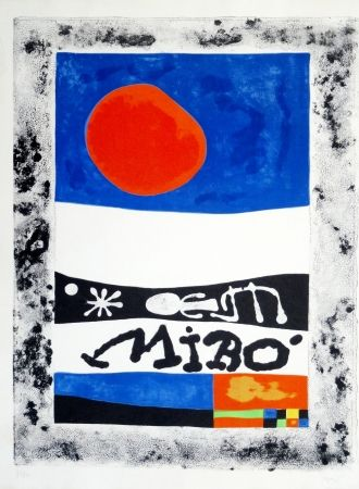 Lithograph Miró - Oeuvres récentes, 1953
