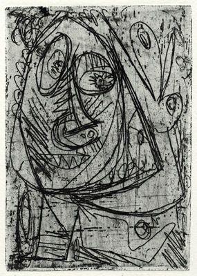 Engraving Jorn - Ohé (Occupations)