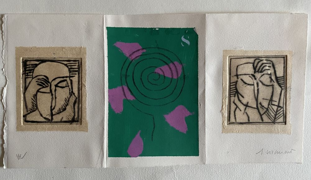 Engraving Coignard - Ohne Titel