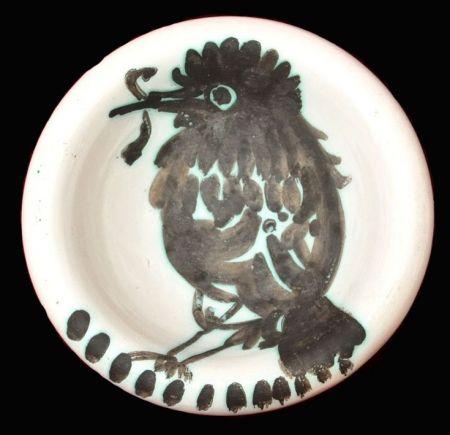Ceramic Picasso - Oiseau au ver