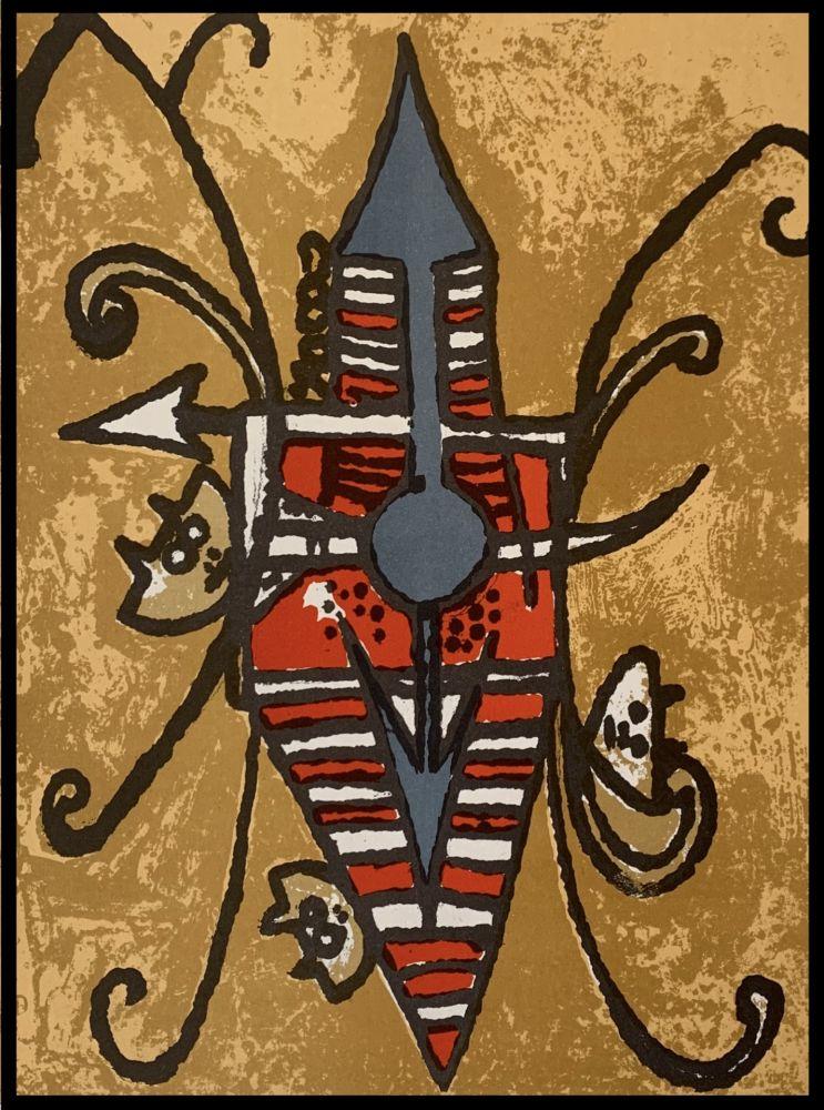 Lithograph Lam - Oiseau du possible