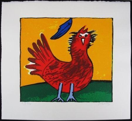 Lithograph Corneille - Oiseau hollandais