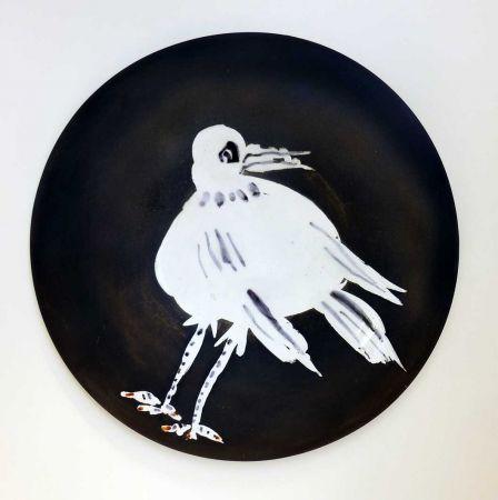 Ceramic Picasso - Oiseau n° 93