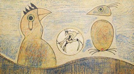 Lithograph Ernst - Oiseaux / Birds