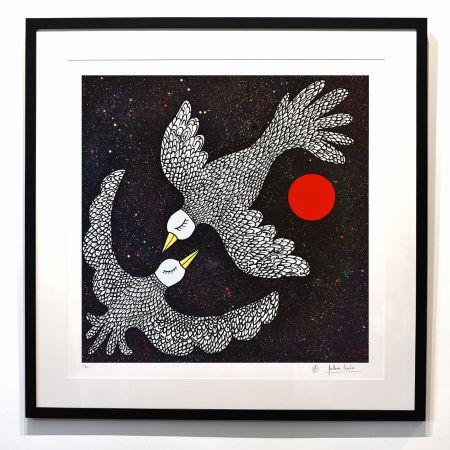 Numeric Print Cavalier - ''Oiseaux Célestes ''