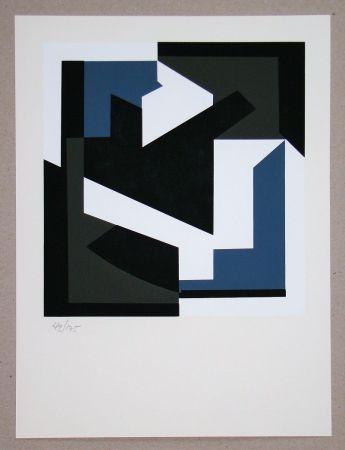 Screenprint Vasarely - Olbio II.