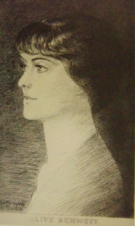 Etching Marcoussis - Olive Bennett
