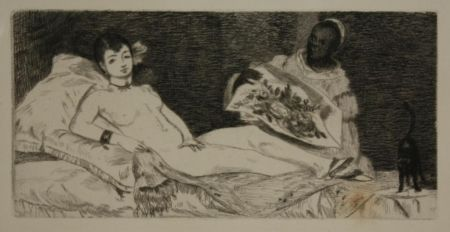 Etching And Aquatint Manet - OLYMPIA