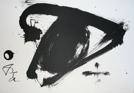 Lithograph Tàpies - Olympic 92