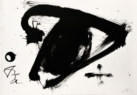 Lithograph Tàpies - Olympic centennial