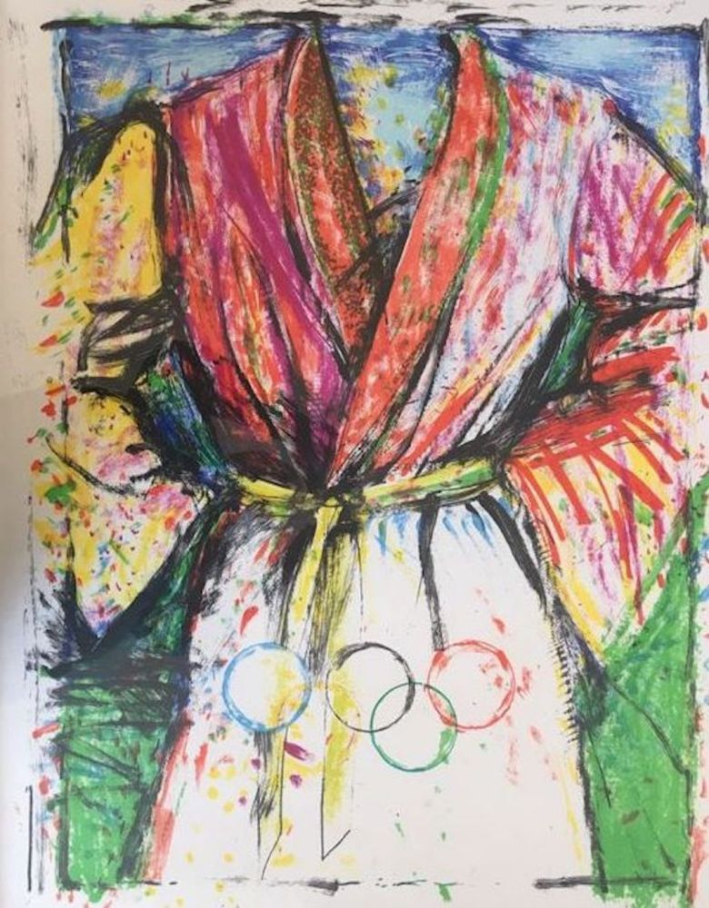 Lithograph Dine - Olympic Robe