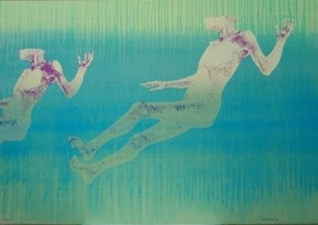 Lithograph Cremonini - Olympique 92