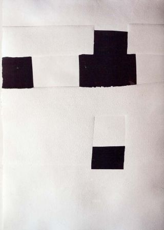 Lithograph Chillida - Olympique 92