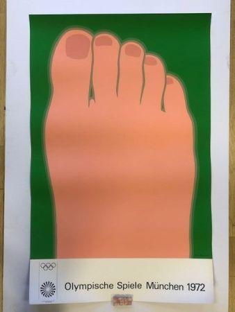 Poster Wesselmann - Olympische spiele munchen 1972
