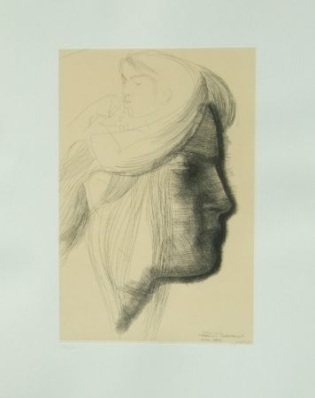 Etching Greco - Omaggio a Michelangelo