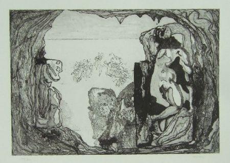 Engraving Castillo - Omaggio a Michelangelo