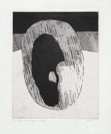 Lithograph Dmitrienko - Ombre I