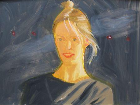 No Technical Katz - Oona (Small Painting)