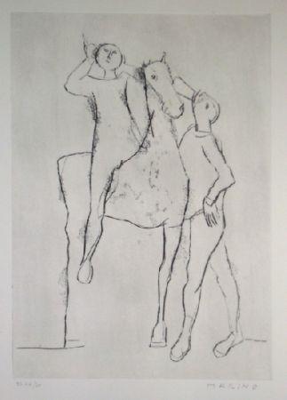 Etching And Aquatint Marini - Opera Grafica 14
