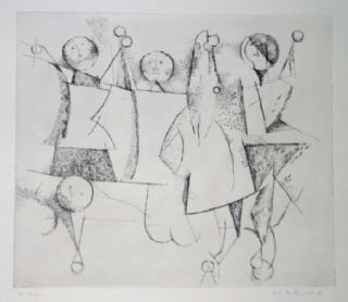 Etching And Aquatint Marini - Opera Grafica 6