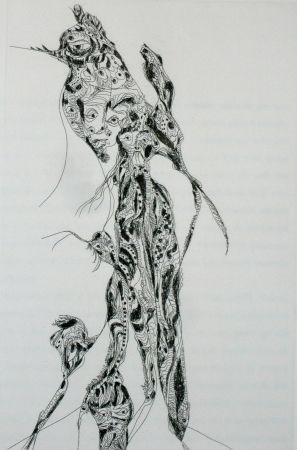 Etching And Aquatint Zurn - Oracles et spectacles 8