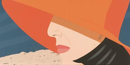 Screenprint Katz - Orange Hat (Alex and Ada Suite)