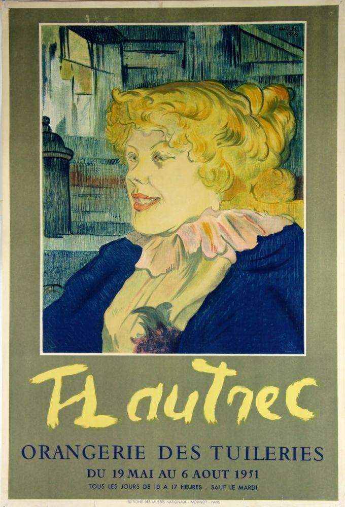 Lithograph Toulouse-Lautrec - Orangerie Des Tuileries