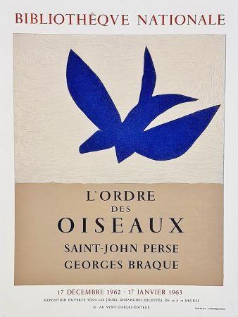 Poster Braque - Ordre des oiseaux