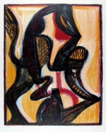 Lithograph Atlan - Orient