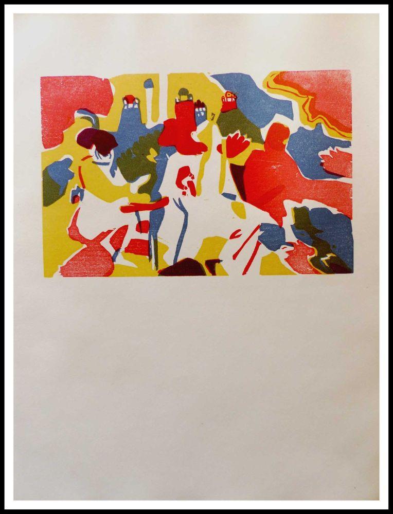 Woodcut Kandinsky - ORIENTALES