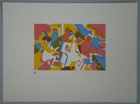 Woodcut Kandinsky - Orientalisches, 1911