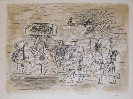 Lithograph Matta -  Original Lithograph, signed - Epreuve d'artiste