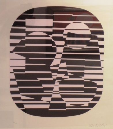 Screenprint Vasarely - OROM
