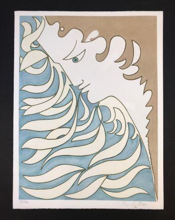 Lithograph Cocteau - Orpheus