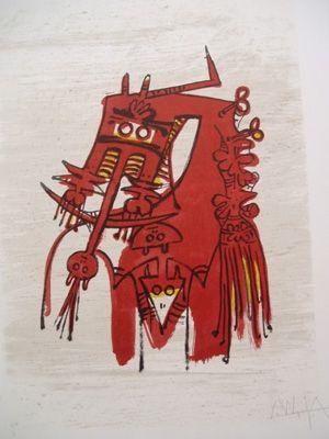 Lithograph Lam - Orsa Maggiore